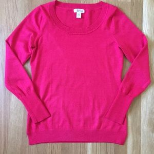 NWOT Bright Red Sweater
